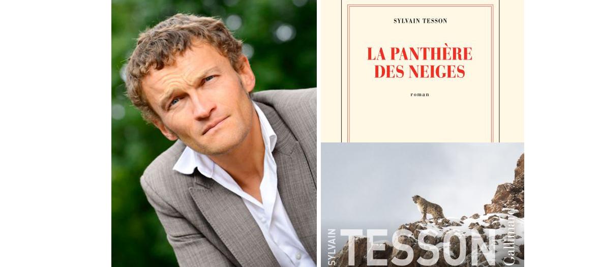 Portrait de Sylvain Tesson  auteur du livre La Panthere des Neiges