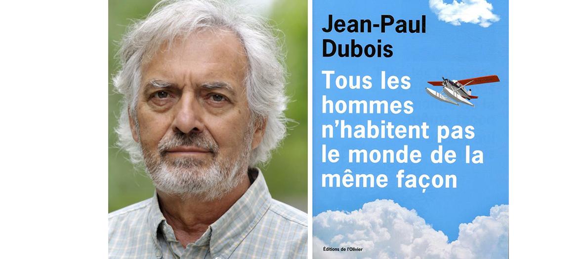 Portrait de Jean-Paul Dubois auteur du livre Tous les hommes n'habitent pas le monde de la même façon