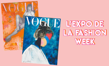 Exposition Couverture Vogue Artiste