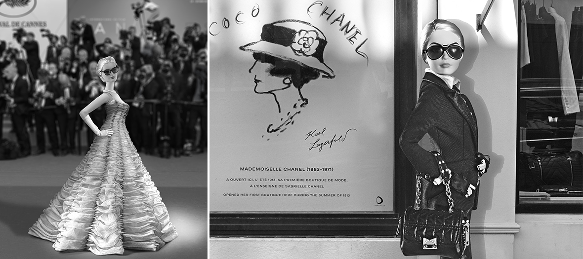 Barbie et les grandes maisons de couture Dior, Chanel, Givenchy