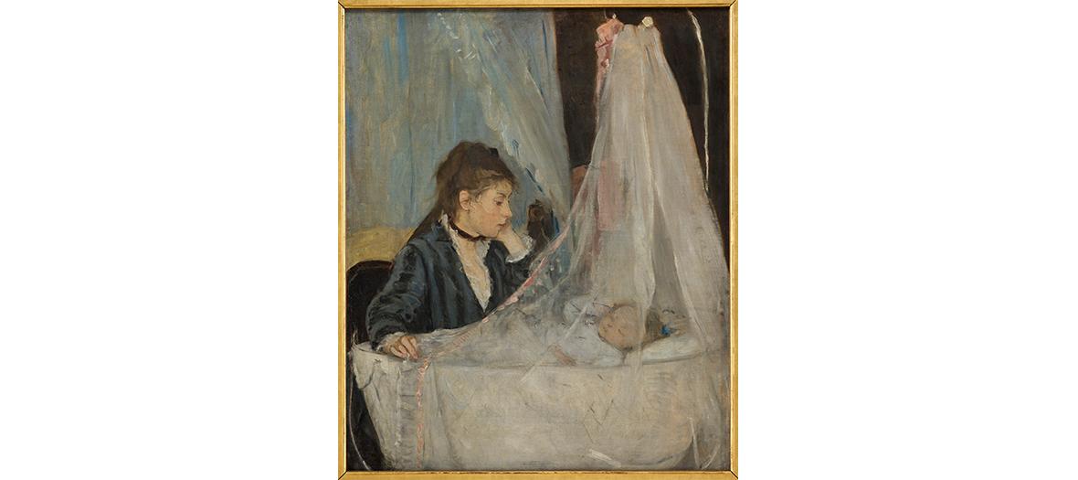 Huile sur toile de Berthe Morisot