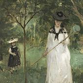 La Chasse aux papillons, Berthe Morisot