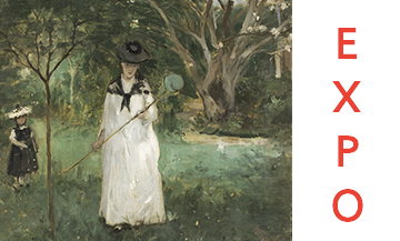 La Chasse aux papillons from Berthe Morisot, Oil on canvas