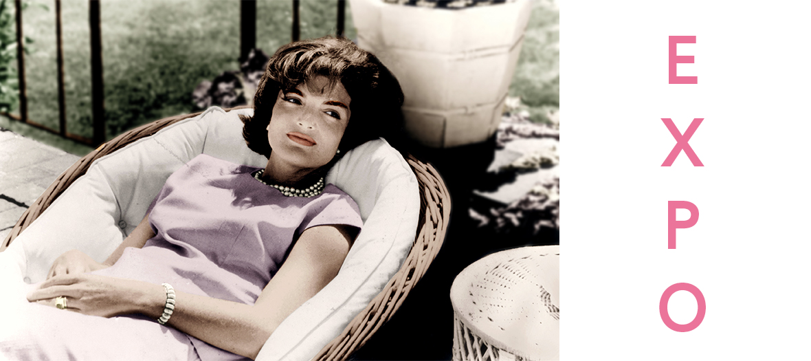 Exposition photo Jackie Kennedy
