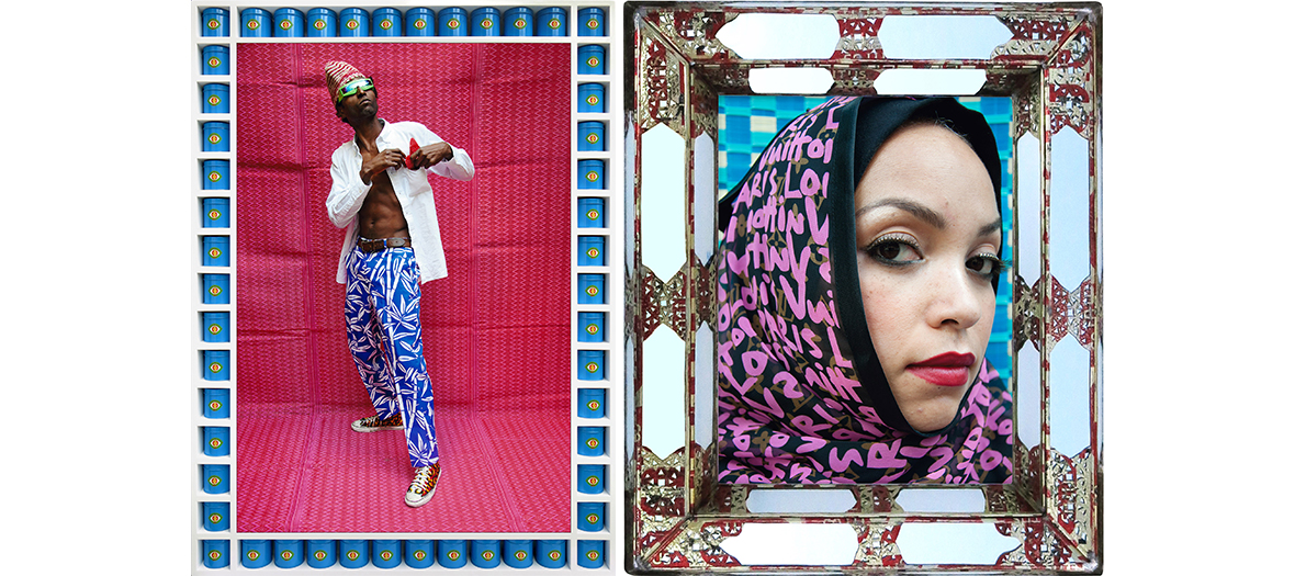 Louis Vuitton's veiled women's photo exhibition by Hassan Hajjaj for the MEP