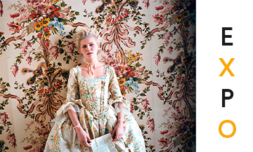 Kirsten Dunst in the Sophia Coppola movie Marie Antoinette