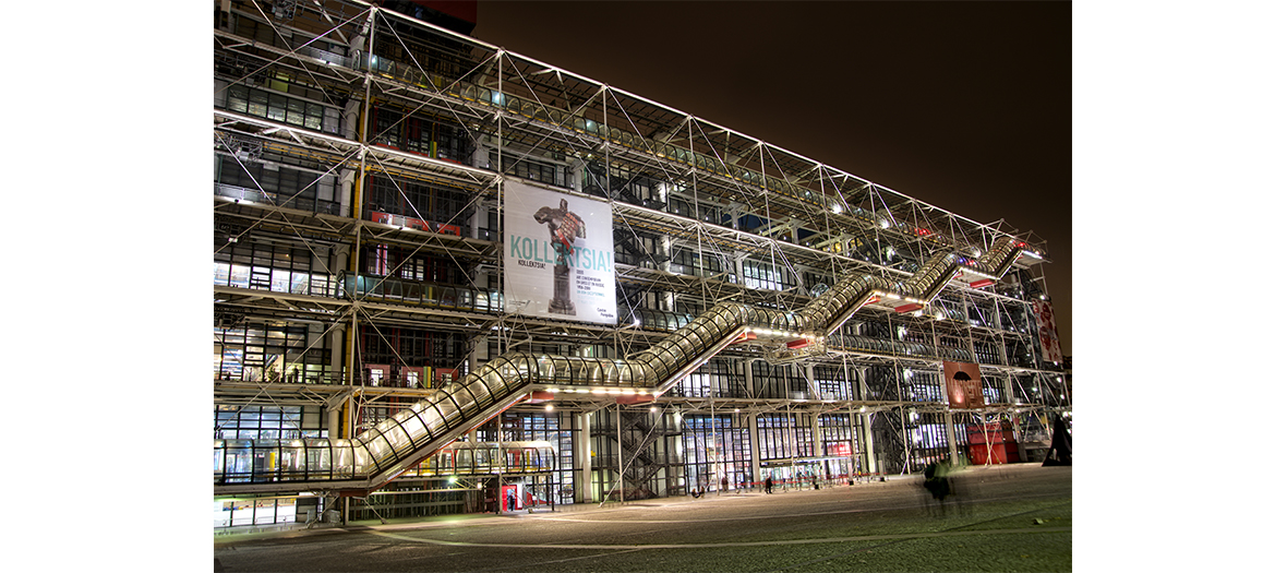 The celebration of the inauguration of the FIAC at the Pompidou Center by Rick Owens