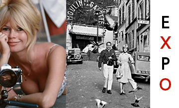 the superb Brigitte Bardot at the peak of her glory in a snapshot signed Gérard Géry, dated 1965.