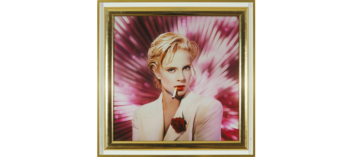 Portrait of Sylvie Vartan Created by the artists Pierre and Gilles