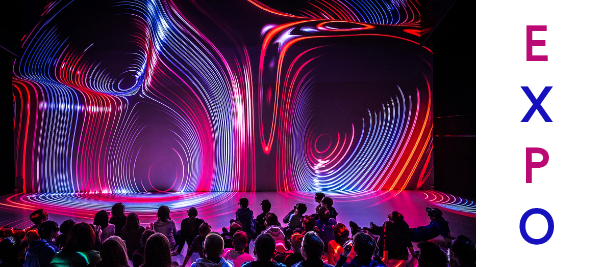 Concours de lumiéres à l'Immersive Art Festival de l'Atelier des Lumières