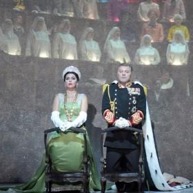 Extrait de Don carlo à l'opéra Bastille avec Roberto Alagna et Michael Fabiano