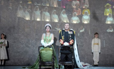 Extract from Don Carlo with Roberto Alagna and Michael Fabiano