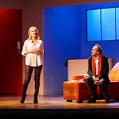 Pièce de théâtre avec Michèle Laroque et François Berléand