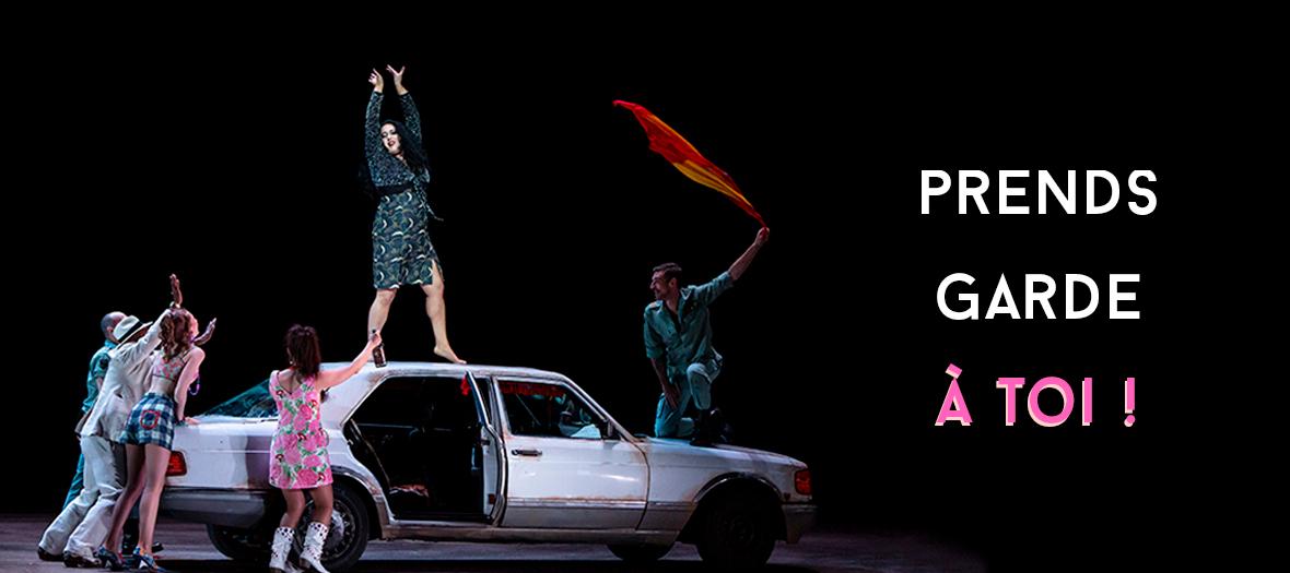 Spectacle Carmen de Bizet à l'Opéra Bastille