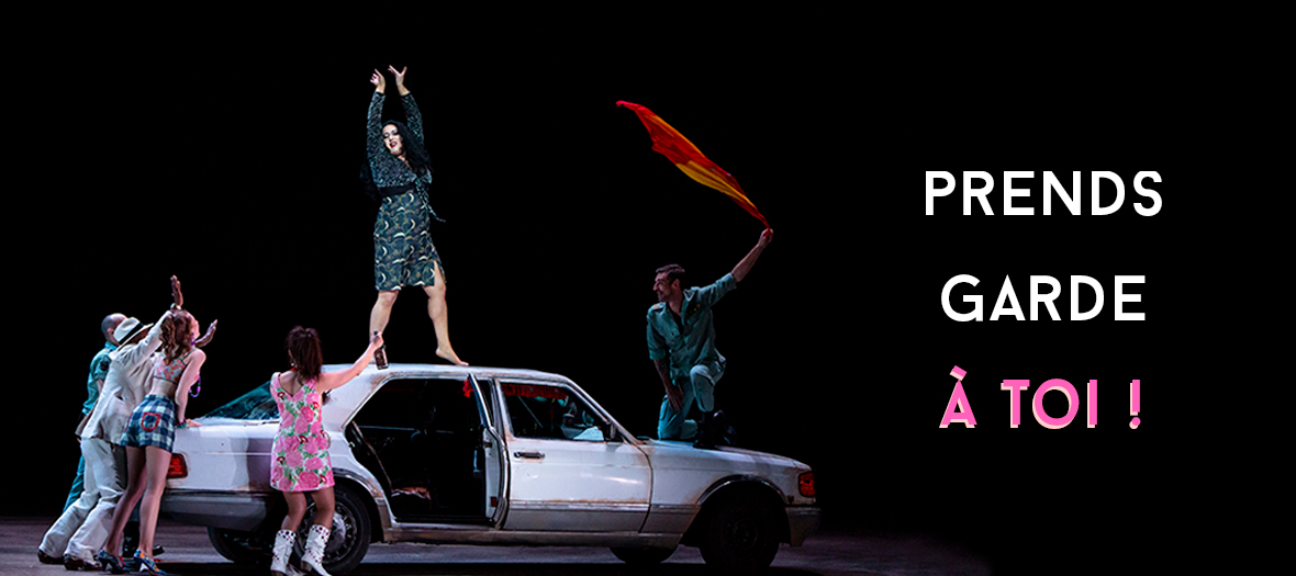 Carmen opera show in opera Bastille in Paris