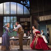 Spectacle de Georges Feydeau à la Comédie Française avec Michel Vuillermoz, Anne Kessler, Florence Viala et Jérôme Pouly