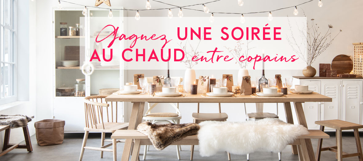 Decoration, gifts, animations and caterer: maisons du monde