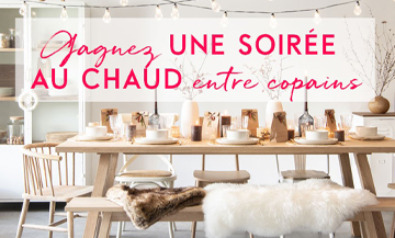 Decoration, gifts, animations and caterer: maisons du monde manages your holiday revelries