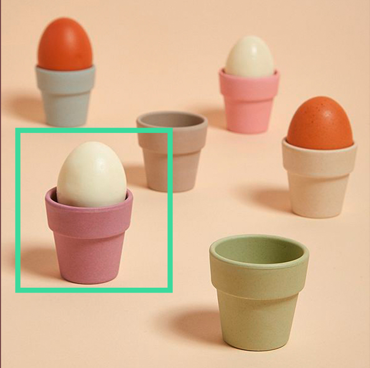 Zuperzozial egg holders, available at Urban Outfitters and on the eshop at 14 €