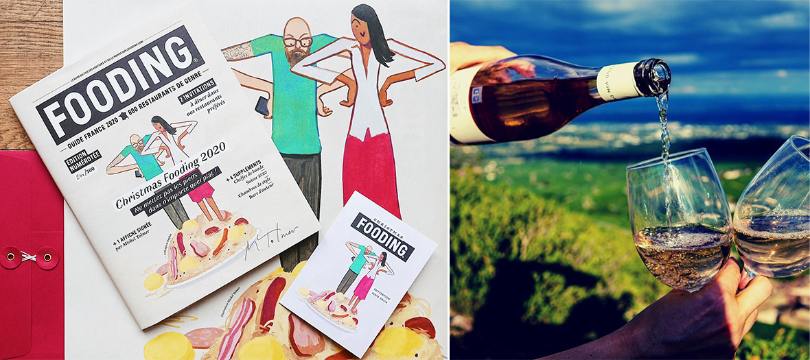 Cadeaux du Vin Cuvée Privée de Bernard Neveu et dîner d'auteur au restaurant Fooding