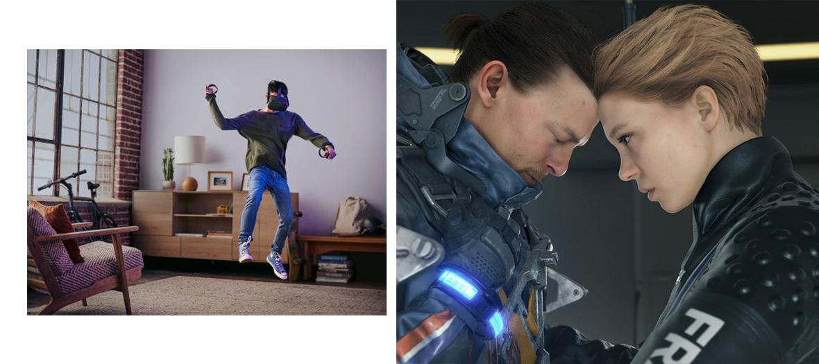 Cadeaux de Casque de réalité virtuelle Oculus Quest à la Fnac et du jeu vidéo Death Stranding sur PS4