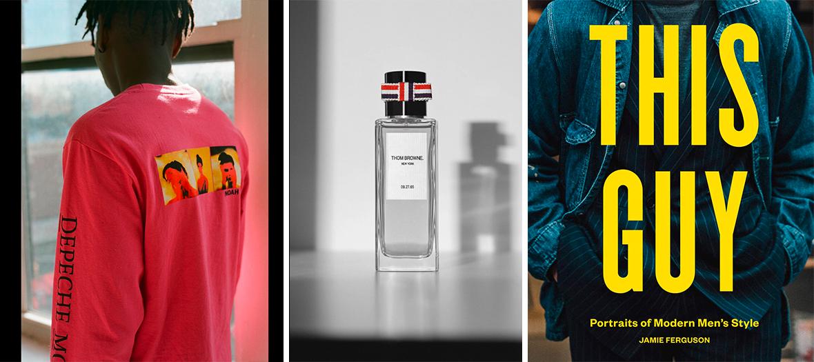 Les T-shirts, pulls, blousons, hoodies de Noah &Depeche Mode et le parfum Thom Browne