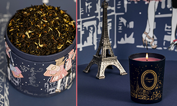 The favourite candles and teas of parisiennes