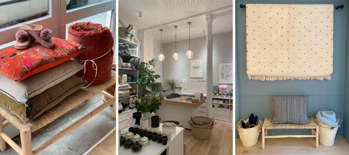 Intérieur de la  boutique M Concept Store Paris
