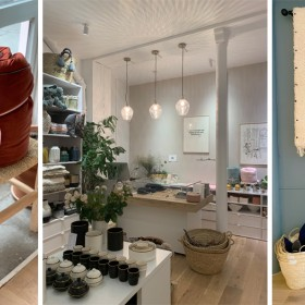 Inside decoration M Concept Store Paris