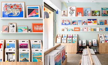 Stylish €25 works of art at Sergeant Paper