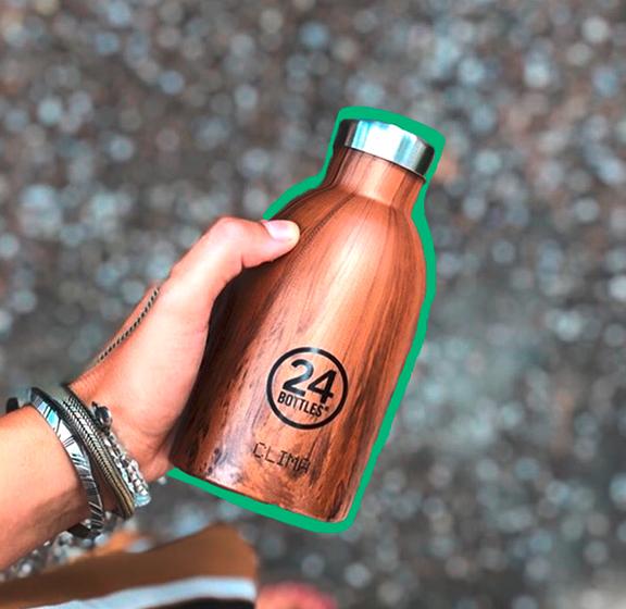La gourde Clima Bottle en acier inoxydable de 24 Bottles
