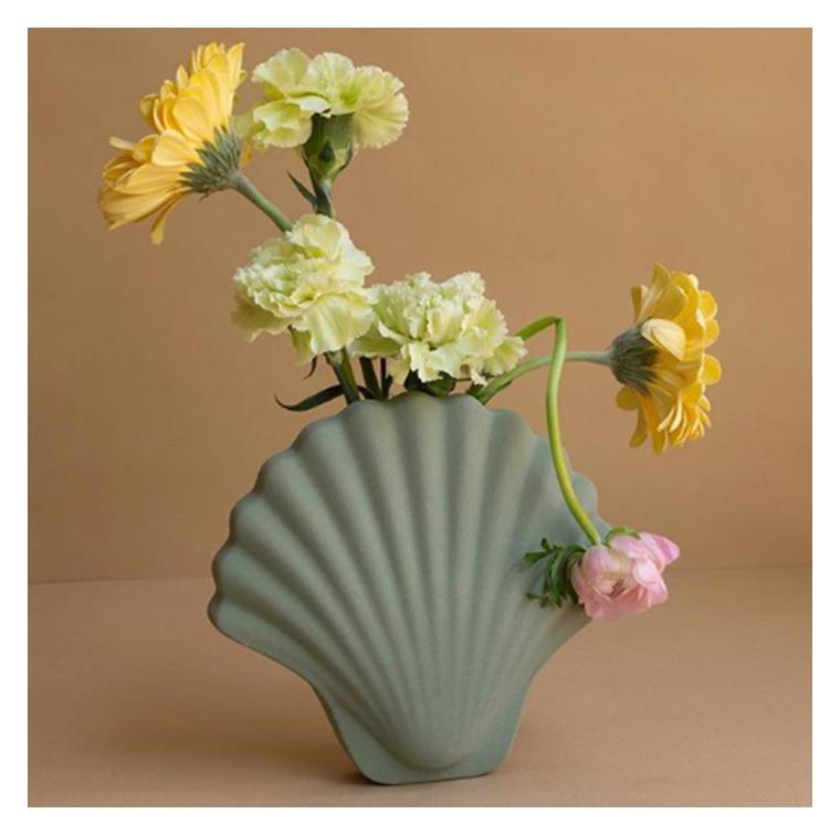 Le vase onirique en argile de Los Objetos Decorativos