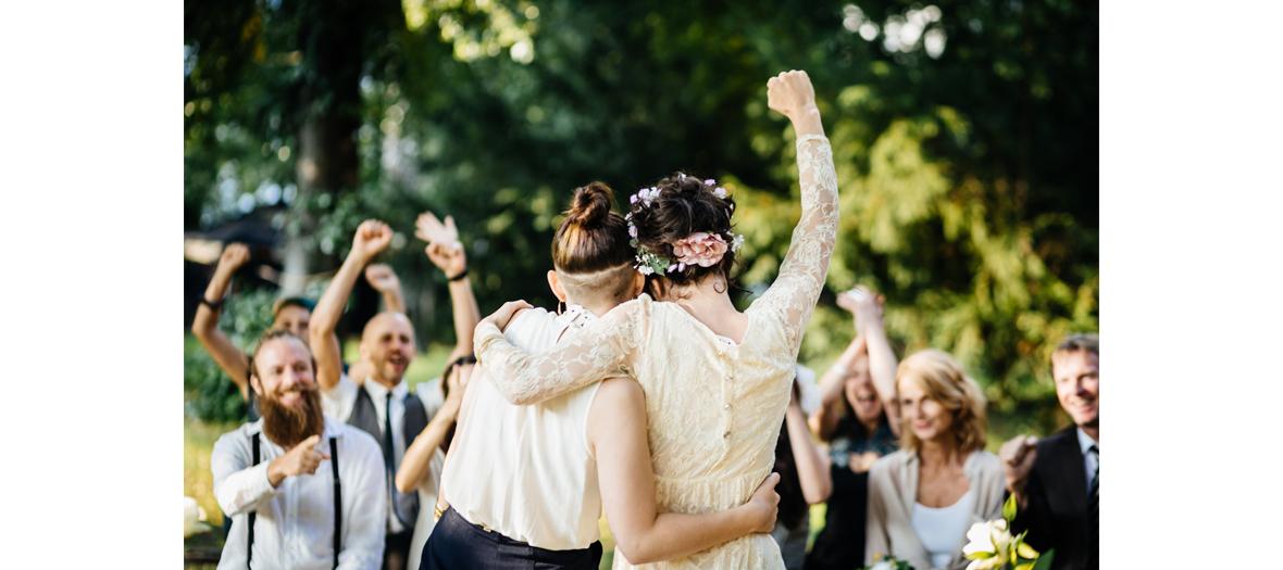 Un mariage sous les étoiles avec Isabelle Clinchamps