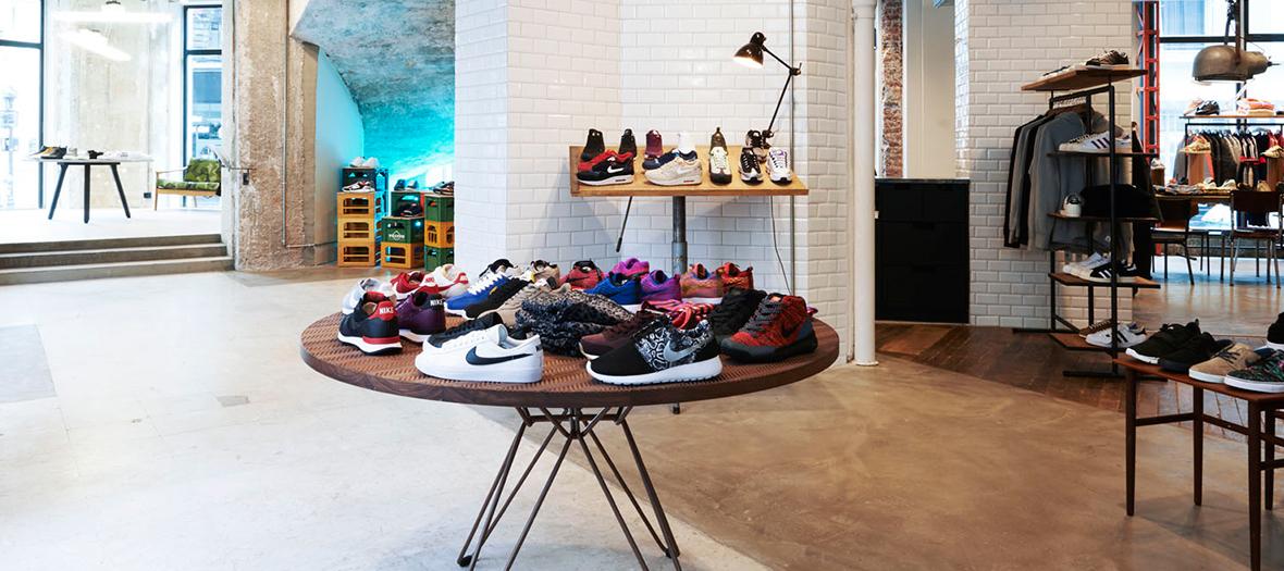 Sneakersnstuff: the temple of sneakers in Paris