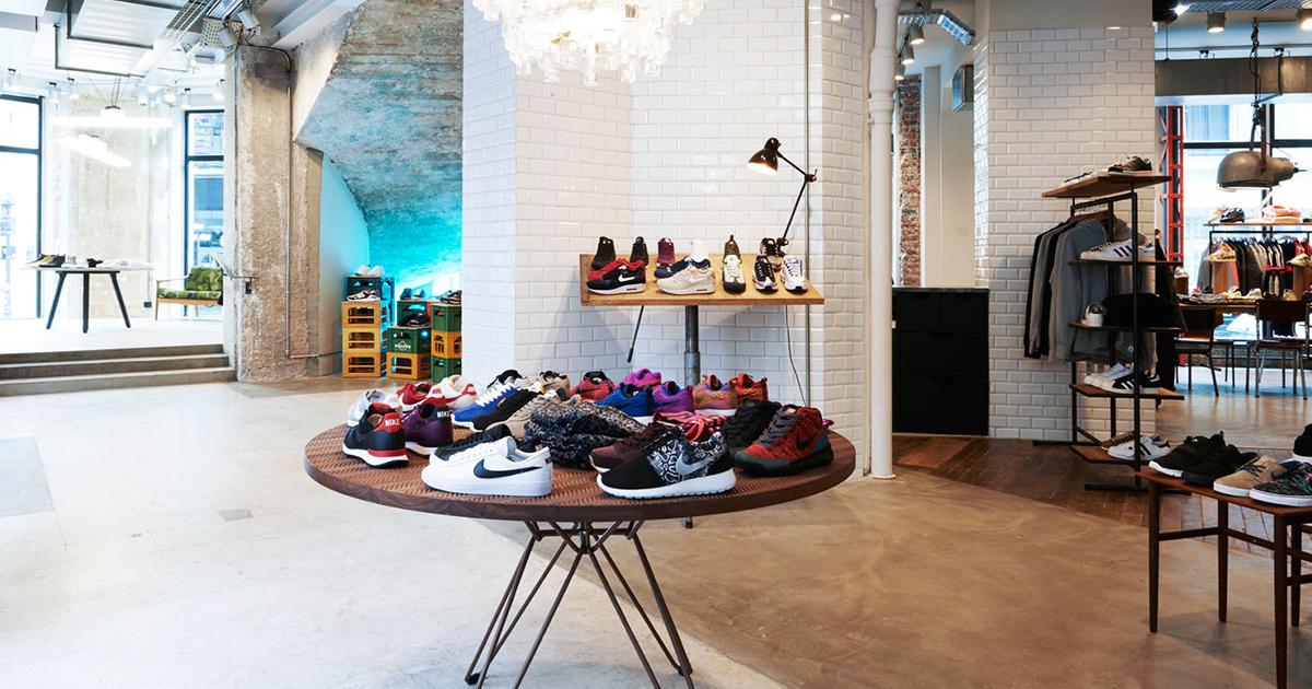 Sneakersnstuff : le temple des sneakers à Paris