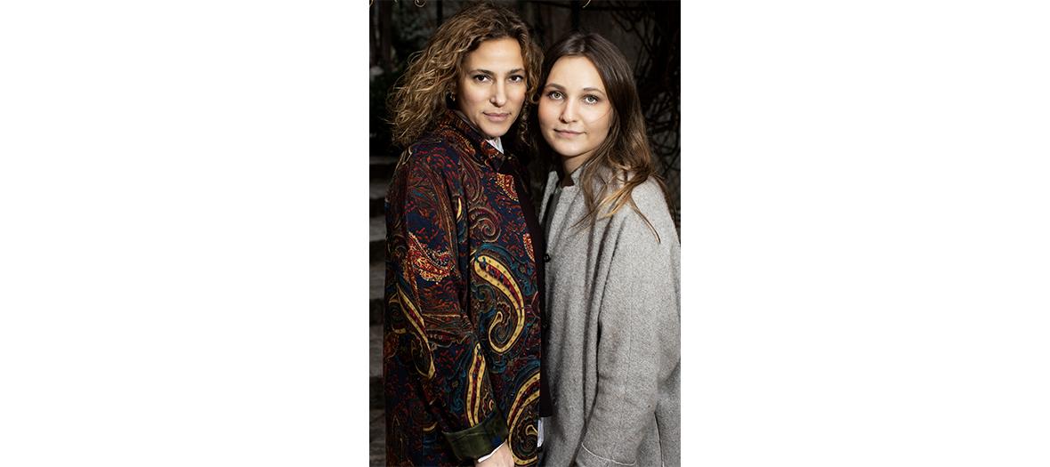 Yaël Kouprianoff et sa fille Sarah