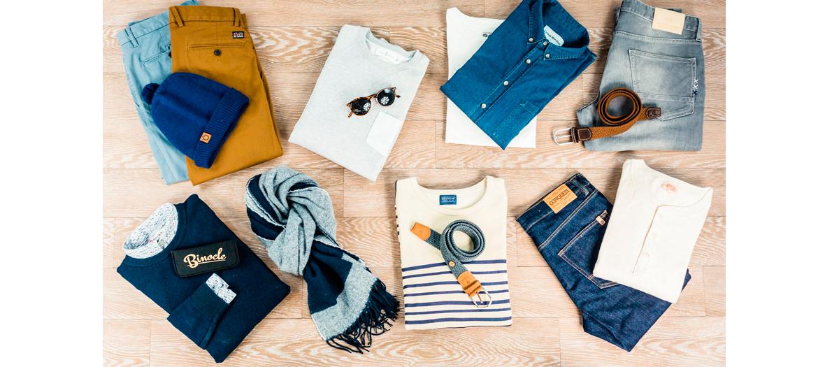 Location de vêtements et accessoires