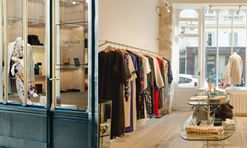 The temple of London fashion lands in Paris