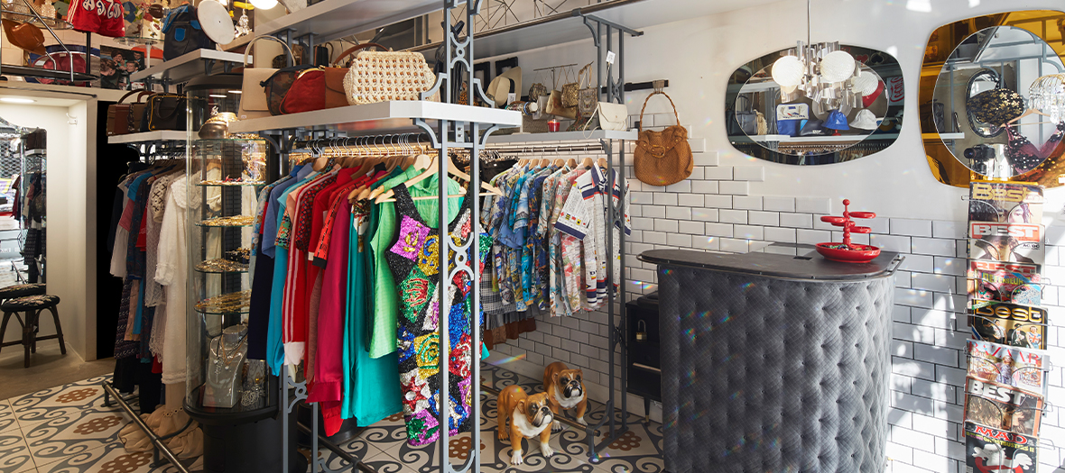 Super Vintage The Fashion And Retro Decoration Boutique In