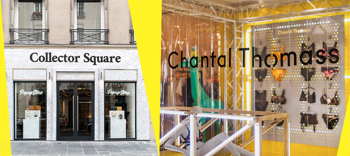 les pop-up stores de la fashion week
