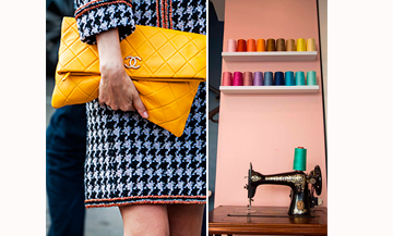 The workshop-boutique where twins Virginie and Laurent refurbish bags in distress