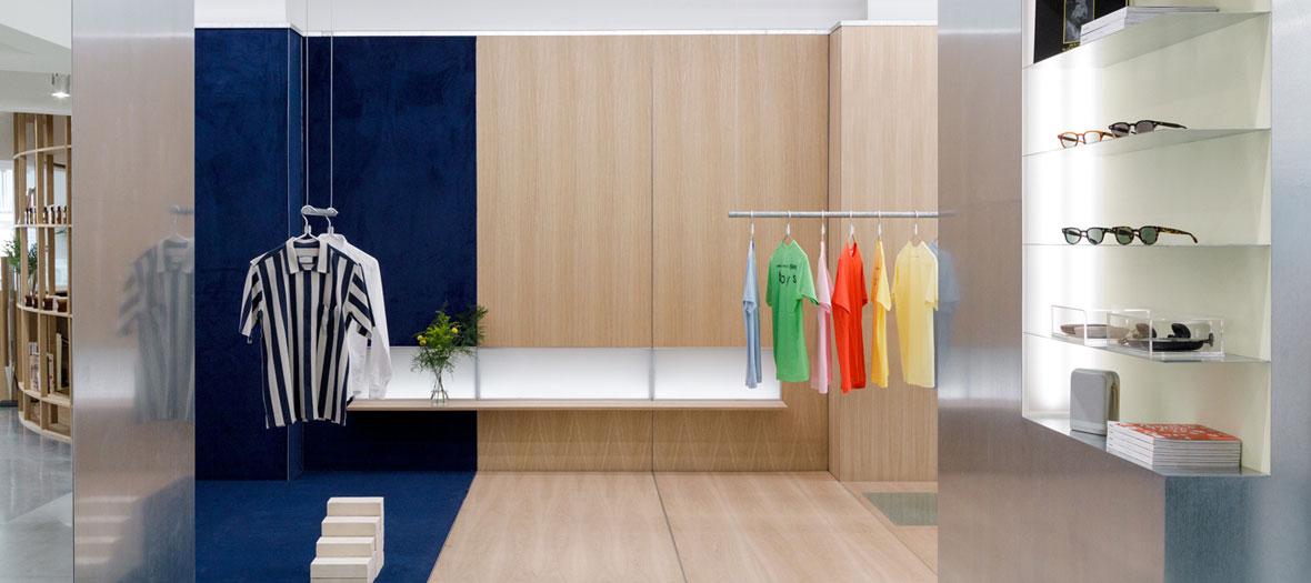 Accessoires dans le concept store the next door