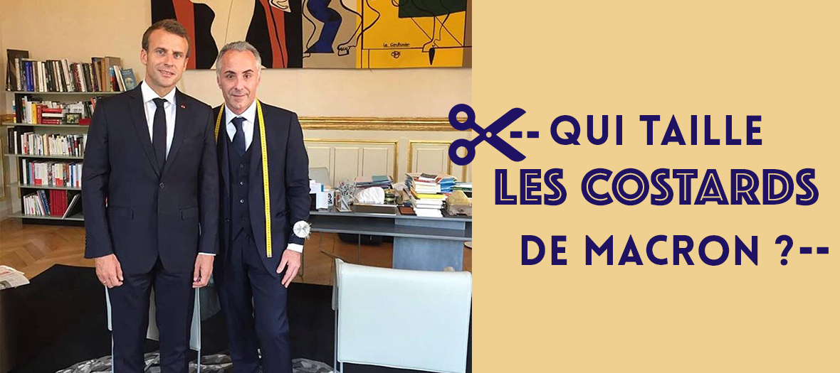 Jonas Et Cie Where President Macron Has His Tailored Suits Made