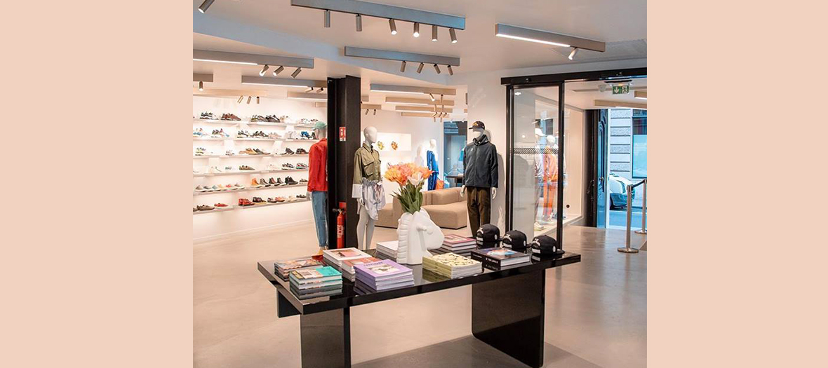 Interieur de la boutique