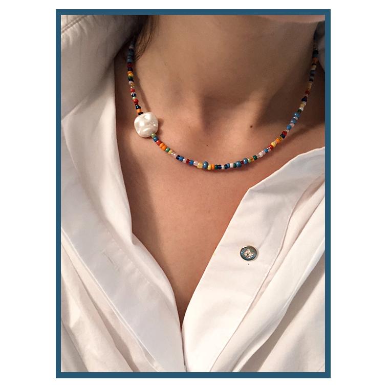 Collier à perles d'Alice Violier