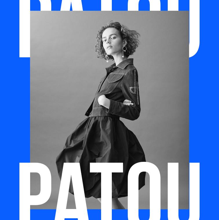 La creation de Jean Patou et de Guillaume Henry à la fashion week