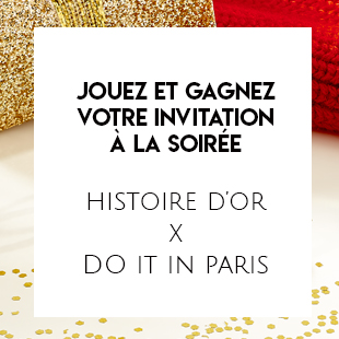 Gift Card for an invitation to the Histoire d'Or and Doitinparis evening