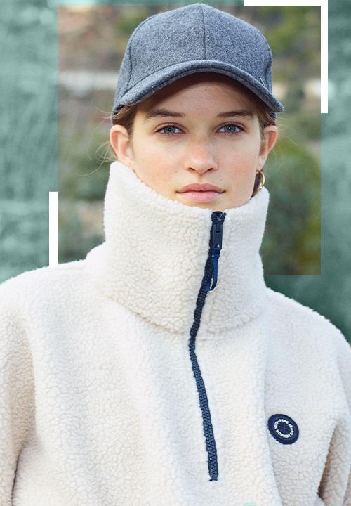 La Casquette en lainage gris chez Pepe Jeans à 25 €