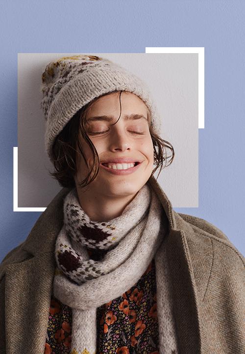 Le Bonnet en laine mélangée jacquard chez Gerard Darel à 65 €