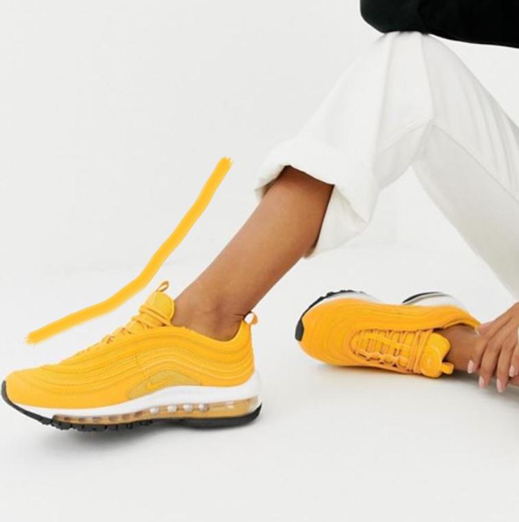 Air Max Nike jaune